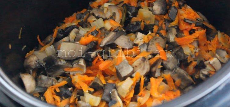 как приготовить грибную икру